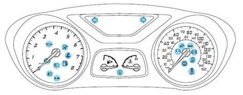 ford focus warning lights exclamation ford focus warning lights