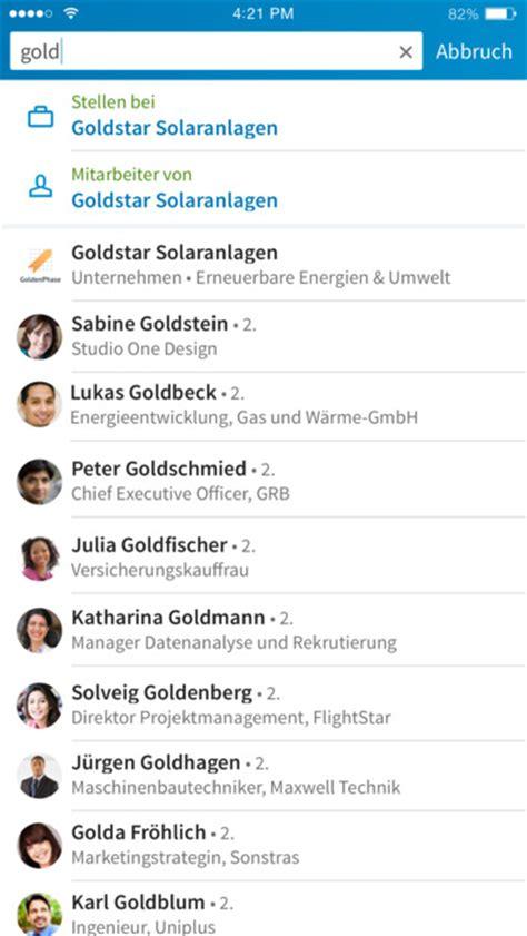 Lebenslauf Linkedin Linkedin Starbucks Und Wunderlist Jetzt Mit 3d Touch Feature