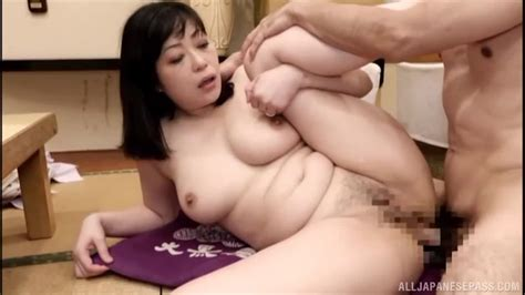 Busty Japanese Milf Gets Her Hot Ass Fucked And Creampied