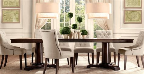 restoration hardware dining room where beauty meets function july 2010