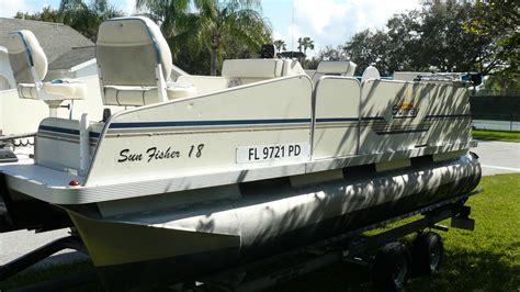 fish n fun pontoon boats fiesta sunray fish n fun pontoon boat for sale from usa