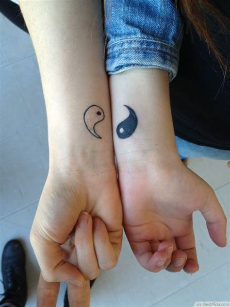 yin and yang couple tattoos 5 signs your boyfriend has become your other half