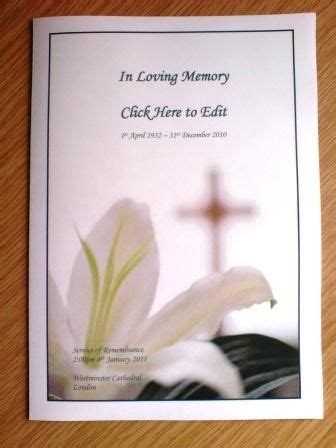 30 Best Images About Funerals On Pinterest Funeral Bulletin Template