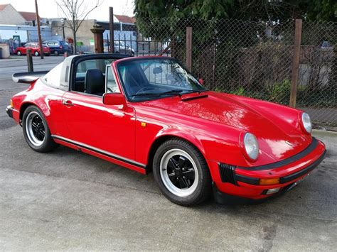 1986 porsche targa 1986 porsche 911 targa for sale cars for sale uk