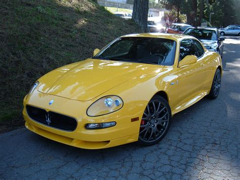 yellow maserati file yellow maserati gransport side jpg wikimedia commons