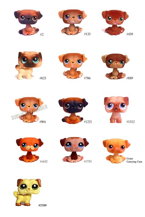 pet pugs s lps littlest pet shop pets pug