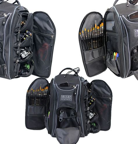 tattoo equipment backpack sullen blaq paq drone tattoo travel bag
