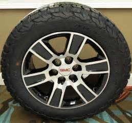 Black Gmc Truck Wheels Rims Set 2014 Black 20 Quot Gmc Denali Wheels Bf