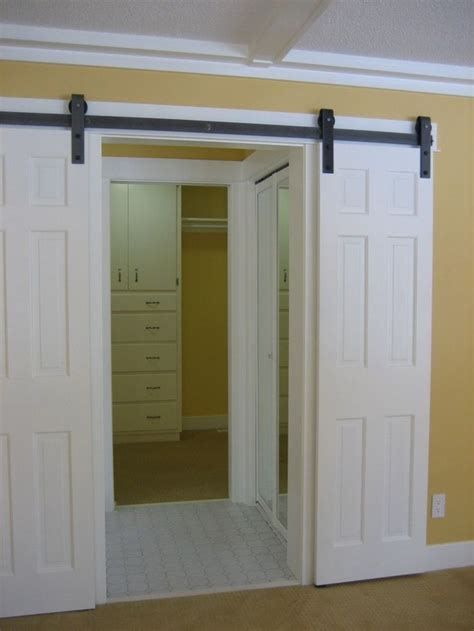hanging a barn door 17 best ideas about hanging door hardware on