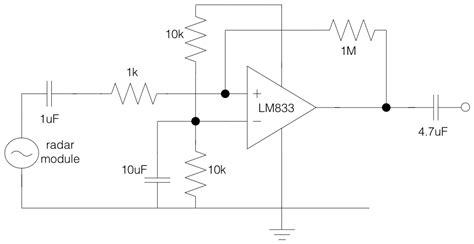 doppler radar circuit diagram circuit and schematics diagram