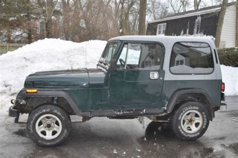 Bad Jeep Tj Purchase Used 1989 Jeep Wrangler Laredo With Bad Motor In
