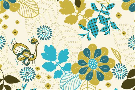 vintage pattern ai free vector downloads 50 illustrator patterns for