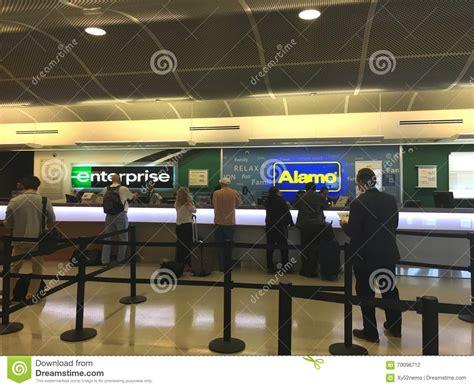 airport car rental editorial photography image  jose