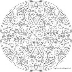 mandala coloring pages advanced level printable coloring