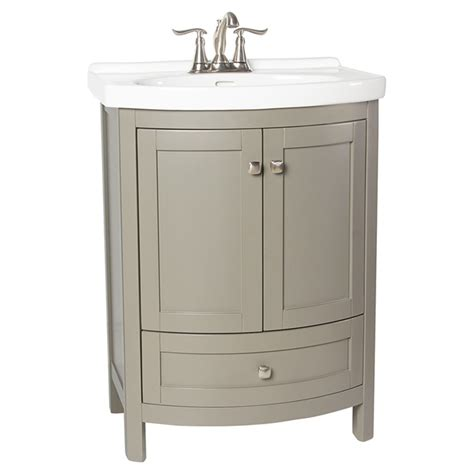 rona canada bathroom vanities meuble lavabo 171 tallia 187 224 portes arrondies gris rona