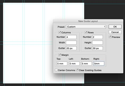 Guide Layout Photoshop Cc | new guide layout in photoshop cc 2014 tipsquirrel