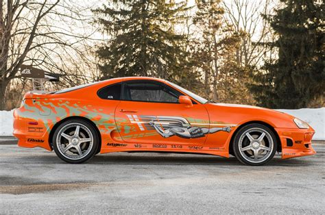 Toyota Walker The Fast And The Furious Supra Driven By Paul Walker Heads