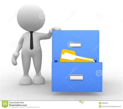 Drawer Person by Drawer Royalty Free Stock Images Image 28888309