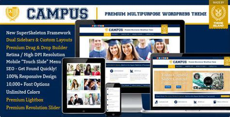 16 education blog templates free premium themes