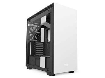 gabinete white gabinete nzxt h700i matte white computer shopping