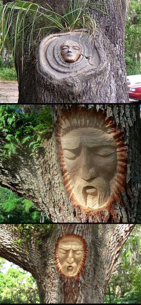 Kreatif Liontin Lu Mode ukiran wajah manusia pada batang pokok yang sangat cool peristiwa dunia peristiwa forum