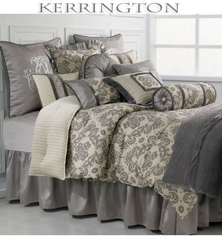 grey and cream bedding kerrington bedding collection features an elegant cream