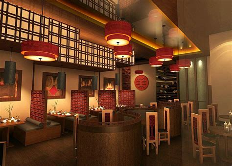 design cafe traditional architecture chinese restaurant in interior room designs