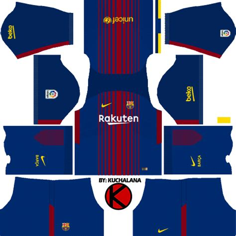 barcelona kit 2018 barcelona nike kits 2017 2018 dream league soccer