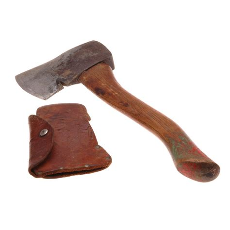 Plumb Hatchet by 1940 S Boy Scouts Of America Bsa Plumb Hatchet Axe And Sheath Collect Sell