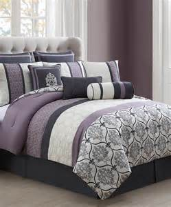 s l home fashions gray lilac comforter set zulily