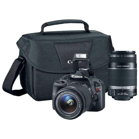 canon sl1 canon rebel sl1 w 18 55mm 55 250mm lenses for 559