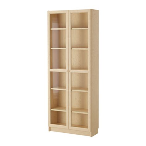 billy oxberg bookcase birch veneer 31 1 2x79 1 2x11 3