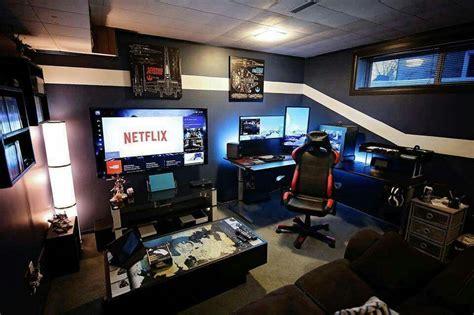 gaming setup designer badass gaming setup must have gaming pinterest