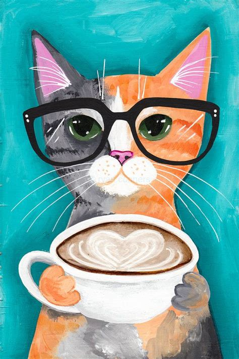 cat painting designs easy best 25 cat paintings ideas on