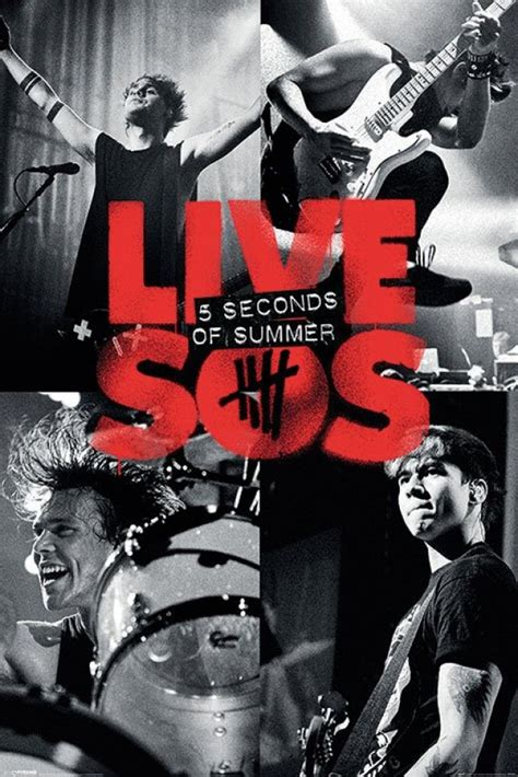 5sos Official Band Poster 5 Seconds Of Summer Iphone All Hp 5 seconds of summer posters five seconds of summer jump poster pp33454 panic posters