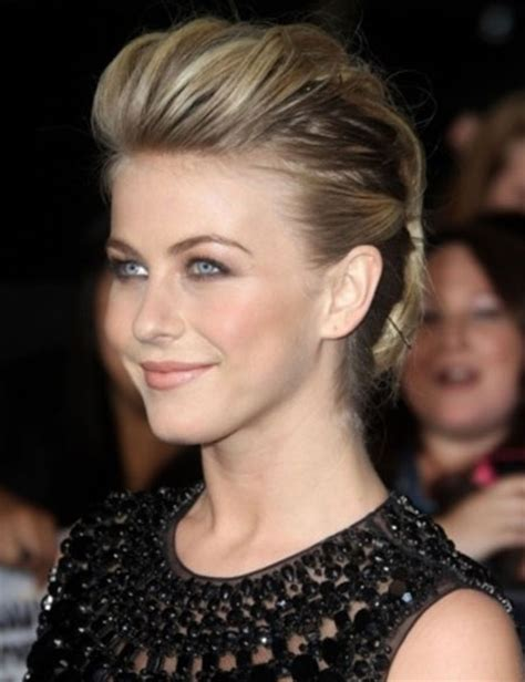 how to style julianne houghs short haircut celebrities with short haircuts 2013 2014 short