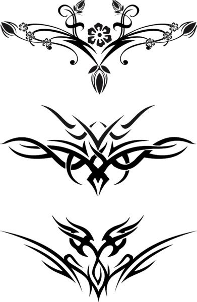 free tattoo designs stencils download free stencils clipart best