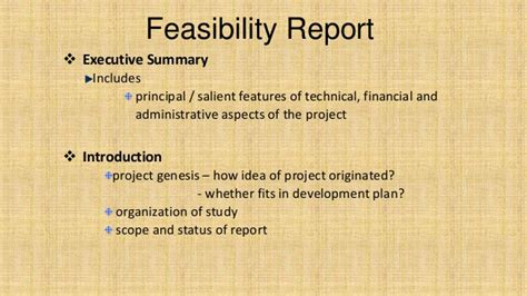Adequacy Of Resources Report Template Feasibility Report Basic Concepts With Exle