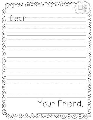 letter writing template for grade i m done jar 2 0 kindergarten reading writing ideas