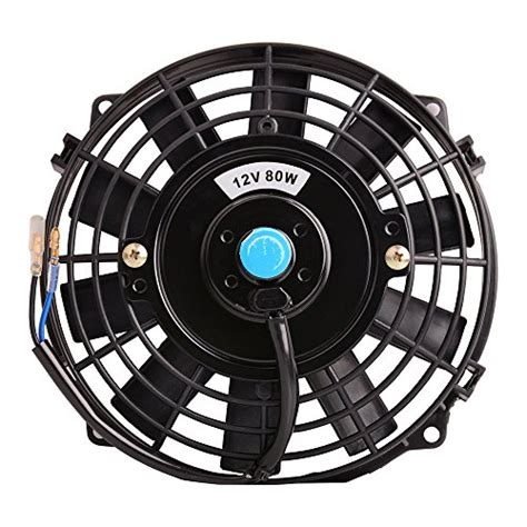 best electric radiator fans best universal slim fan push pull electric radiator