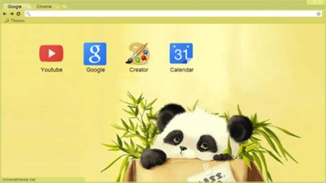 theme google chrome panda 50 awesome google chrome themes