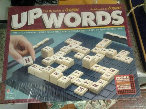 scrabble upwords upwords 3 dimensional word from scrabble sealed