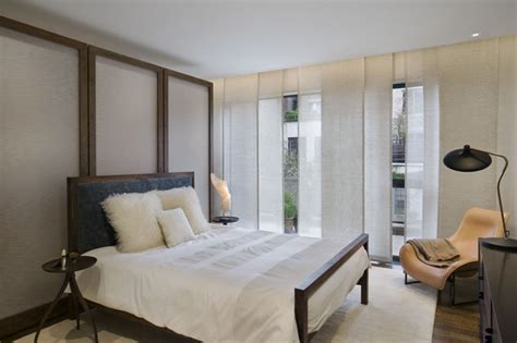 west village townhouse contemporary bedroom  york