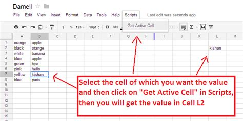 excel set cell value to another cell excel change value