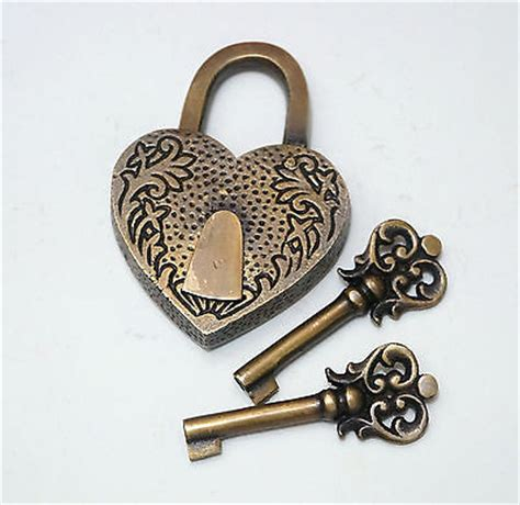forever lock price vintage carved forever padlock with two