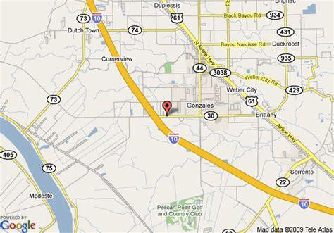 map of gonzales texas map of western inn gonzales gonzales