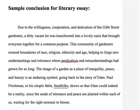 Exle Of Conclusion In An Essay by Exle Of A Conclusion For An Essay Haadyaooverbayresort