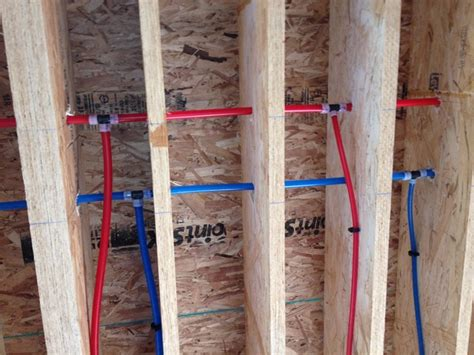pex floor sleeve plastic pex re piping new pex pipes replace with pex tubing