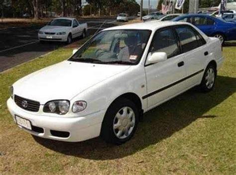 Used Toyota Corolla 2001 2001 Used Toyota Corolla Sedan Car Sales Bunbury Wa