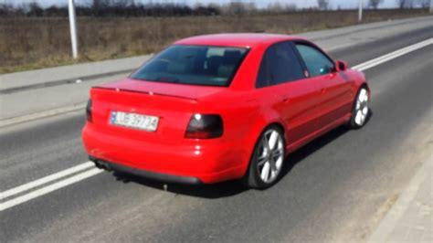 Audi A4 2 8 Quattro by Audi A4 B5 2 8 30v Quattro Przelot Wydech Straight Pipe